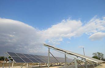 Kırklareli'nde bir köye 80 güneş paneli konuldu