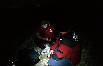 Uludağ'da mahsur kalan kişi kurtarıldı