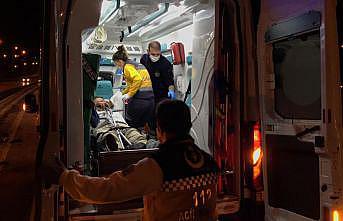 Anadolu Otoyolu'nda trafik kazası: 1 yaralı