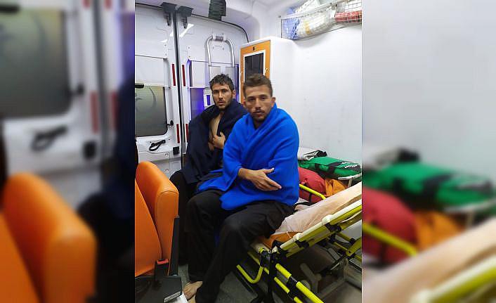 Bursa'da batan balıkçı teknesindeki 4 kişi kurtarıldı
