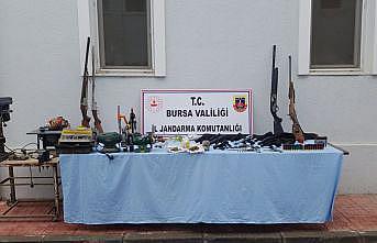 Bursa'da kaçak silah imalathanesine yönelik operasyonda 2 şüpheli yakalandı