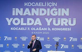 Cumhurbaşkanı Erdoğan, AK Parti Kocaeli 7. Olağan İl Kongresi'nde konuştu
