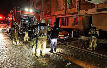Esenyurt'ta bina yangını: 1 yaralı