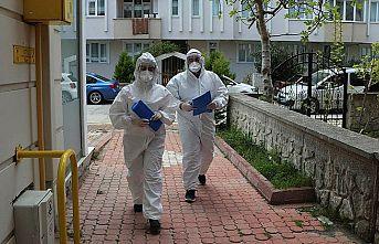 Filyasyon ekibince yurda götürülürken kaçan Kovid-19 hastası yakalanarak karantinaya alındı