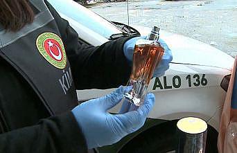 İstanbul'daki operasyonda sahte parfüm ve nargile tütünü ele geçirildi