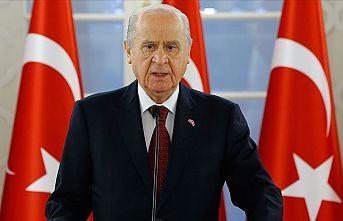 MHP Genel Başkanı Bahçeli: HDP'nin kapısına açılmamak üzere kilit vurulmalıdır