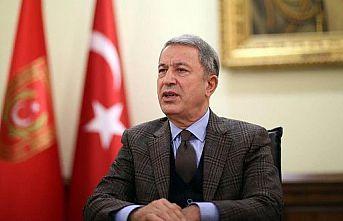 Milli Savunma Bakanı Akar: ABD'nin yaptırım kararını kınıyoruz