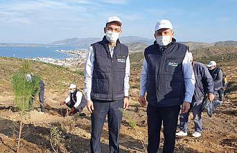 """Limak Enerji'nin """"Yeşil Dönüşüm Ormanları Projesi"""" Balıkesir'de devam ediyor"""
