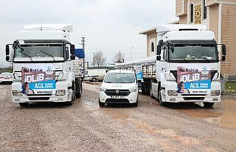 Sakarya'dan Suriye'deki ihtiyaç sahiplerine 40 ton un yardımı