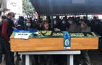 Basketbolcu Ziya Berhan Kılıç'ın cenazesi toprağa verildi
