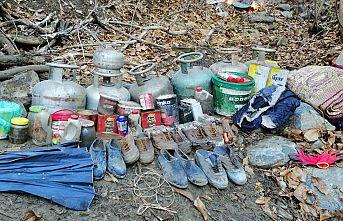 Terör örgütüne yönelik operasyonlarda 53 ton gıda maddesi ele geçirildi