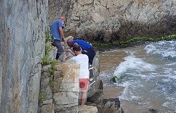 Kırklareli'nde derenin taşması sonucu mahsur kalan bekçi, AFAD ekiplerince kurtarıldı