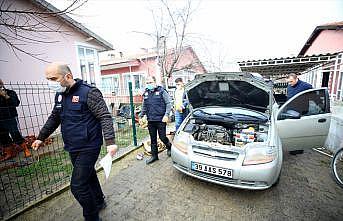 Kırklareli'nde taşkının ardından hasar tespit çalışmaları başlatıldı