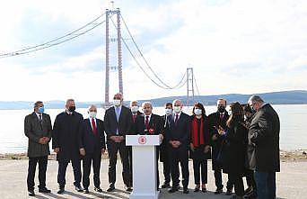 TBMM Başkanı Mustafa Şentop  HDP'nin kapatılması istemiyle açılan davayı değerlendirdi: