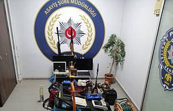 Bursa'da hırsızlık operasyonunda 8 şüpheli gözaltına alındı