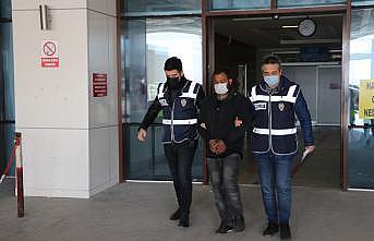 Edirne'de araçların camlarını kırarak içindeki malzemeleri çalan zanlı tutuklandı