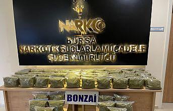 Bursa'da uyuşturucu operasyonunda 3 kişi tutuklandı