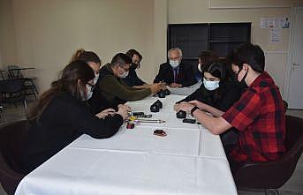 """Tekirdağ'da lise öğrencileri """"insansız su altı aracı"""" tasarladı"""