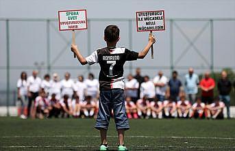 Bursa'da anneler uyuşturucuyla mücadele için sahaya çıktı
