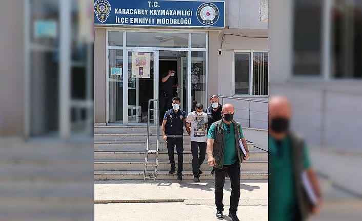 Bursa'da araç hırsızlığı yaptığı iddia edilen şüpheli tutuklandı