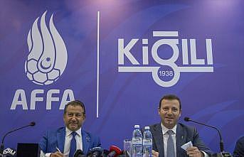 Kiğılı, Azerbaycan Milli Futbol Takımı'nın giyim sponsoru oldu