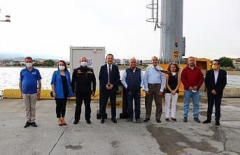 """Tekirdağ'da Asyaport Limanı'na """"deprem-tsunami gözlem istasyonu"""" kuruldu"""