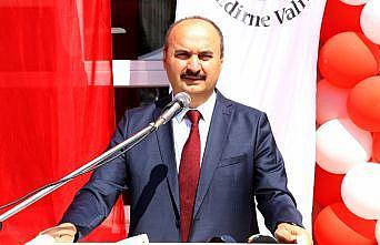 Vali Canalp Edirne'nin nüfusuna oranla aşılamada Türkiye'de birinci kent olduğunu belirtti: