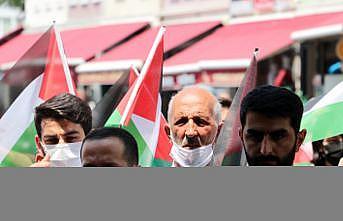 Sakarya ve Bolu'daki sivil toplum kuruluşları, İsrail'in Mescid-i Aksa'daki politikalarını kınadı