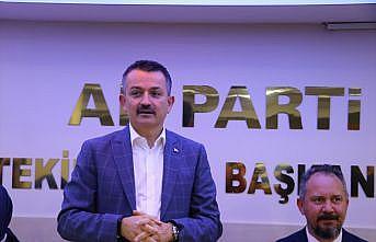 """Tarım ve Orman Bakanı Pakdemirli: """"Türkiye dünyanın en iyi projelerini yapmaya muktedirdir"""""""