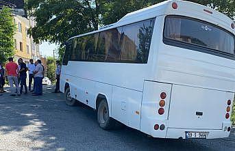 Tekirdağ'da hırsızlık şüphelisi gezdikten sonra terk ettiği otobüsün teyp ve aynalarını çaldı