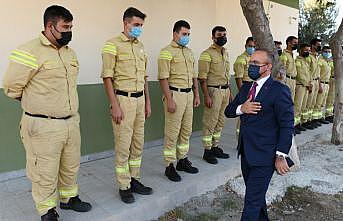 AK Parti Grup Başkanvekili Turan, Çanakkale'de Yangın Yönetim Merkezi'ni ziyaret etti: