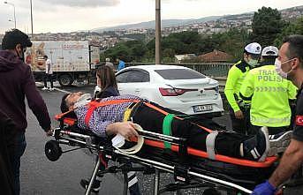 Anadolu Otoyolu'nun İstanbul yönü Kocaeli kesimindeki zincirleme kaza nedeniyle ulaşıma kapandı