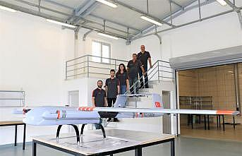 Gebze Teknik Üniversitesinde geliştirilen İnsansız Hava Aracı Sancak'ın montajı bitti