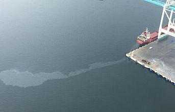 İzmit Körfezi'ni kirleten gemiye 1 milyon 197 bin lira para cezası kesildi