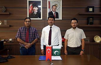 SUBÜ ile Pakistan'daki üniversite arasında teknoloji paylaşımı ve öğrenci değişimi yapılacak