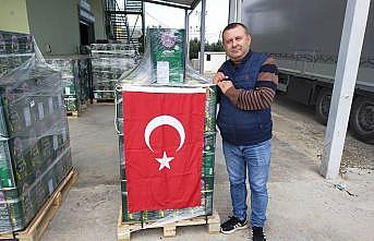 Coğrafi işaret tescilli Geyikli zeytinyağı'nın İngiltere'ye ihracatı başladı