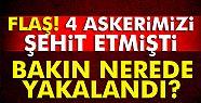 4 askeri şehit eden örgüt üyesi İstanbul'da...