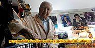 91 yaşındaki akordeon ustası gençlere...