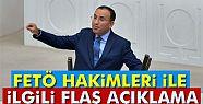 Adalet Bakanı Bozdağ'dan FETÖ hakimlerinin...