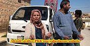 Afrinli siviller PKK'nın yalanlarını...