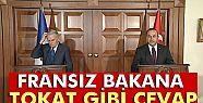 Çavuşoğlu, Fransız Bakana 'ifade özgürlüğü'nü...