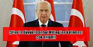 Çiller'in Büyük İstanbul Mitingi'ne...