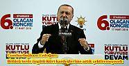 Cumhurbaşkanı Erdoğan: Bölücü terör...