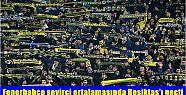 Fenerbahçe seyirci ortalamasında Beşiktaş'ı...