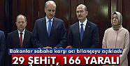 İçişleri Bakanı Soylu: '29 şehidimiz,...