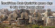 İsrail'den Batı Şeria'da yasa dışı...