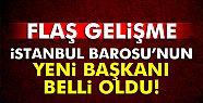 İstanbul Barosu'nun yeni başkanı Mehmet...