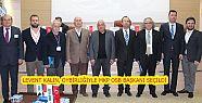 LEVENT KALIN, OYBİRLİĞİYLE MKP OSB BAŞKANI...