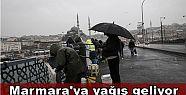 Marmara'ya yağış geliyor