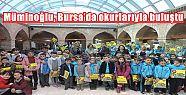 Müminoğlu, Bursa'da okurlarıyla buluştu